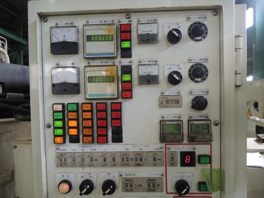 光洋_KVD-300S_立型両頭平面研削盤