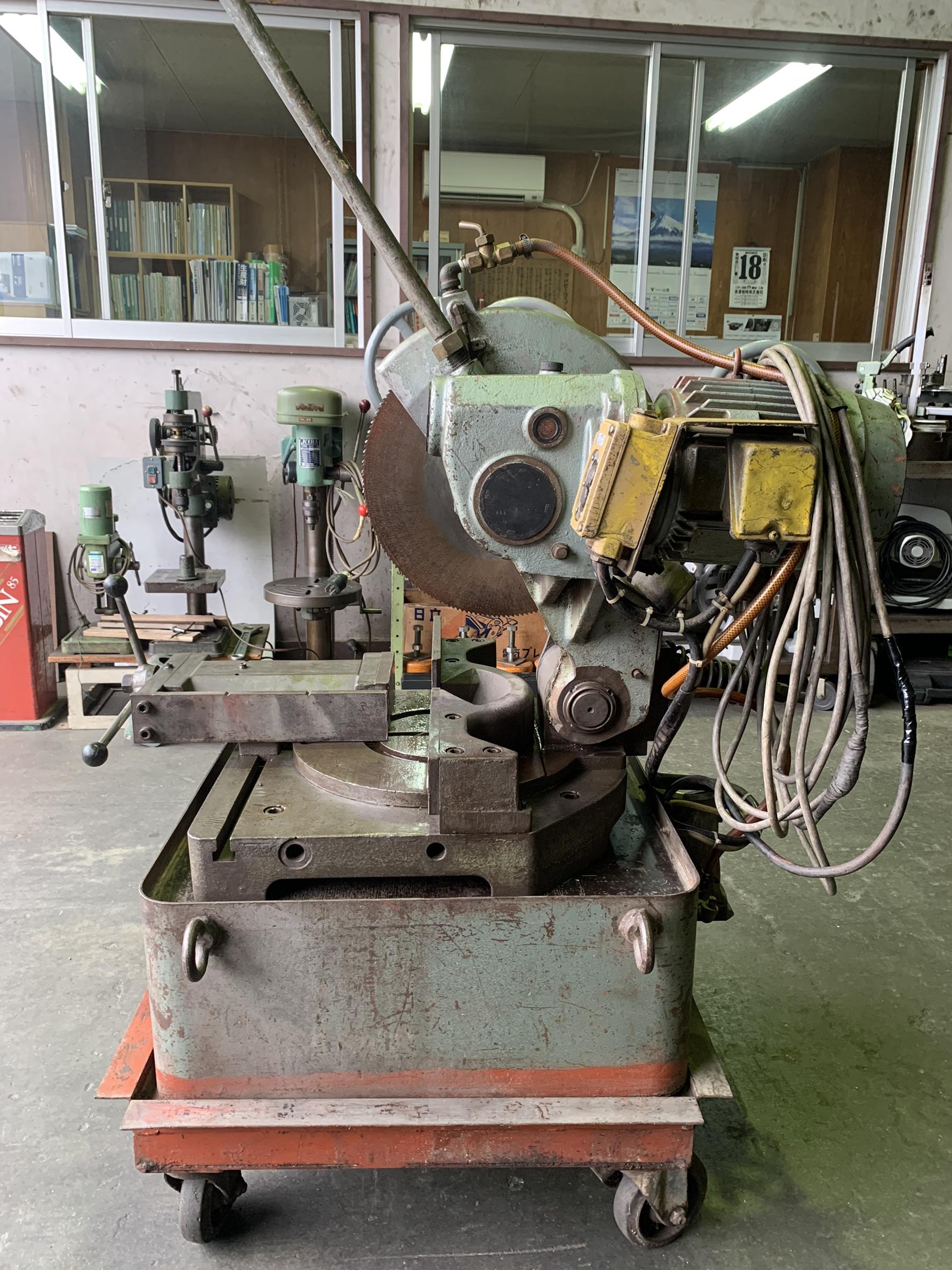 高速電機_KCM-370_メタルソー(メタル切断機)