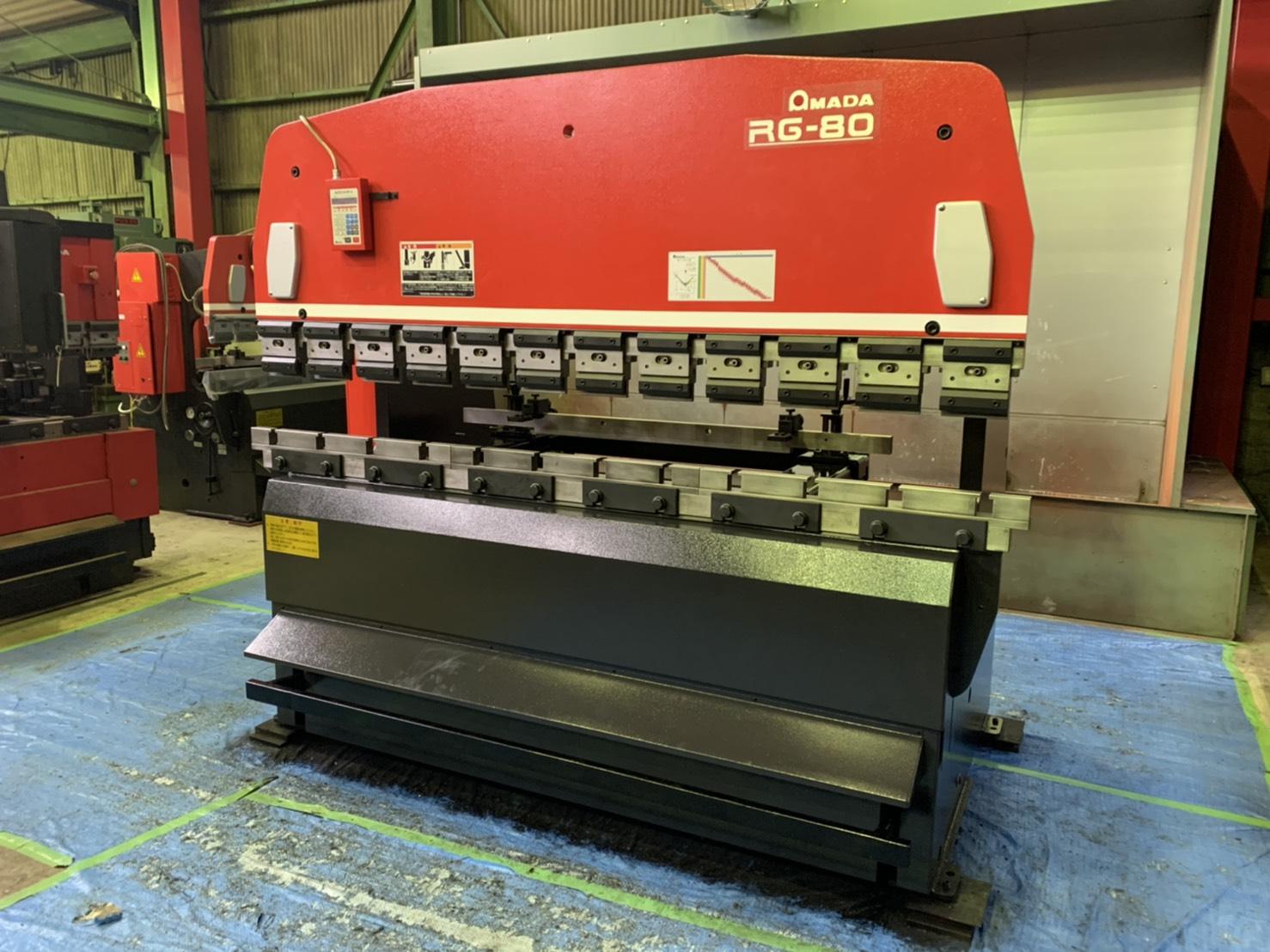 アマダ_RG-80_2500mm油圧ベンダー