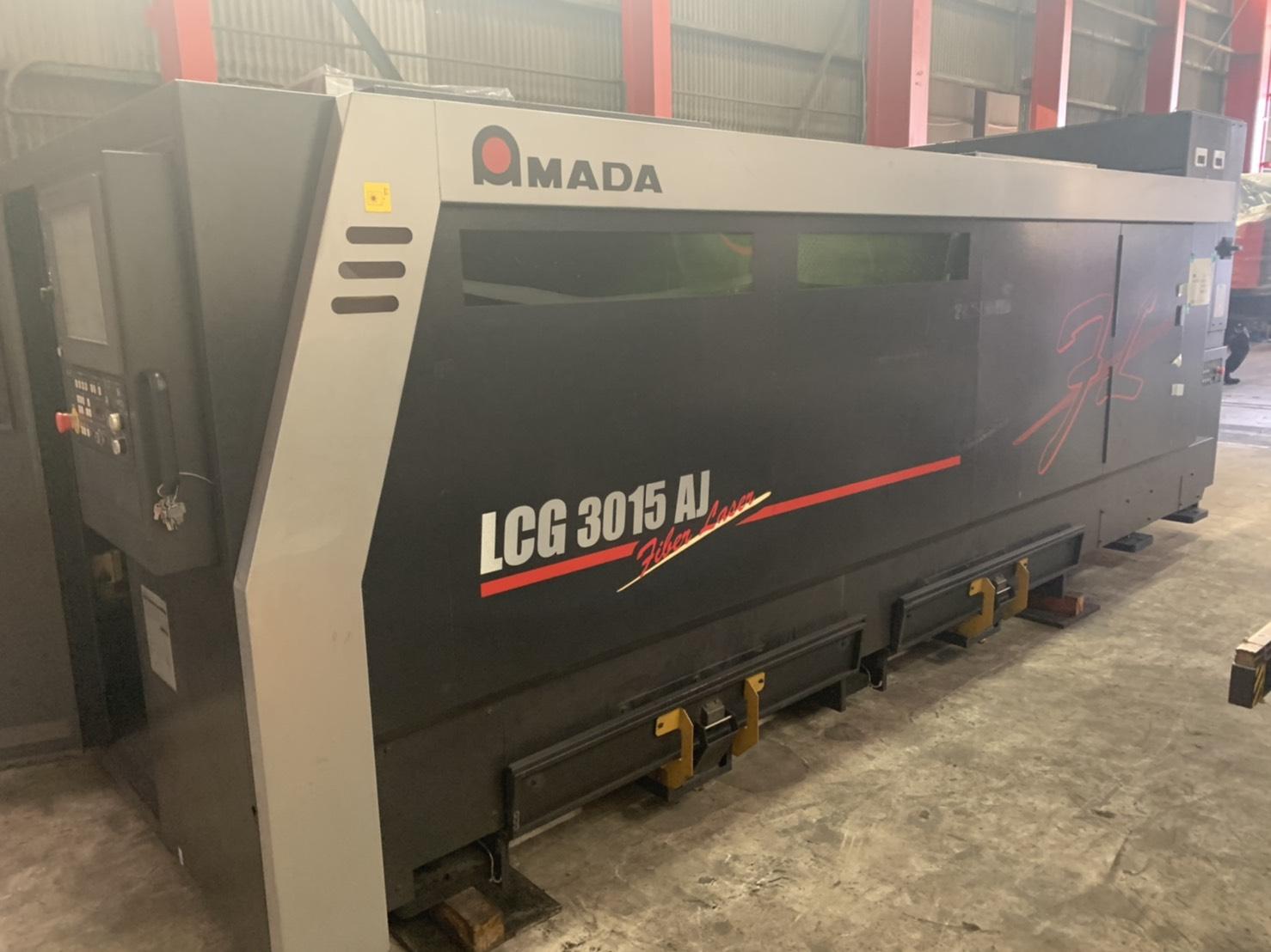 アマダ_LCG-3015AJ_ファイバーレーザー加工機