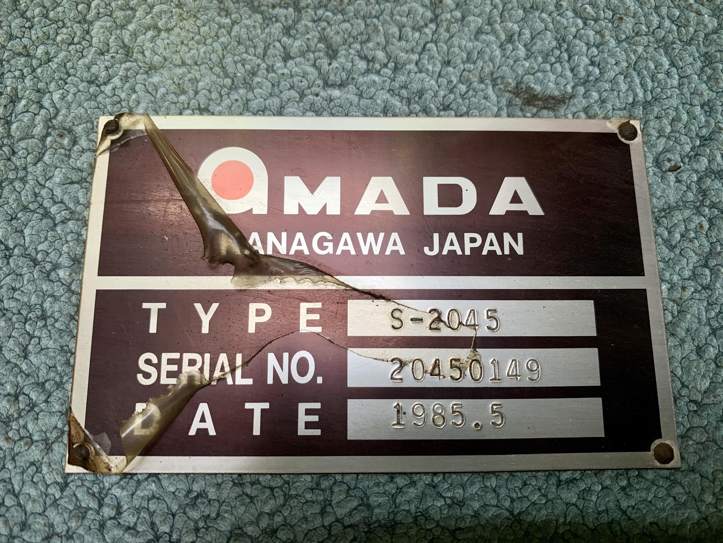 AMADA アマダ_S-2045_2000mmメカシャーリング