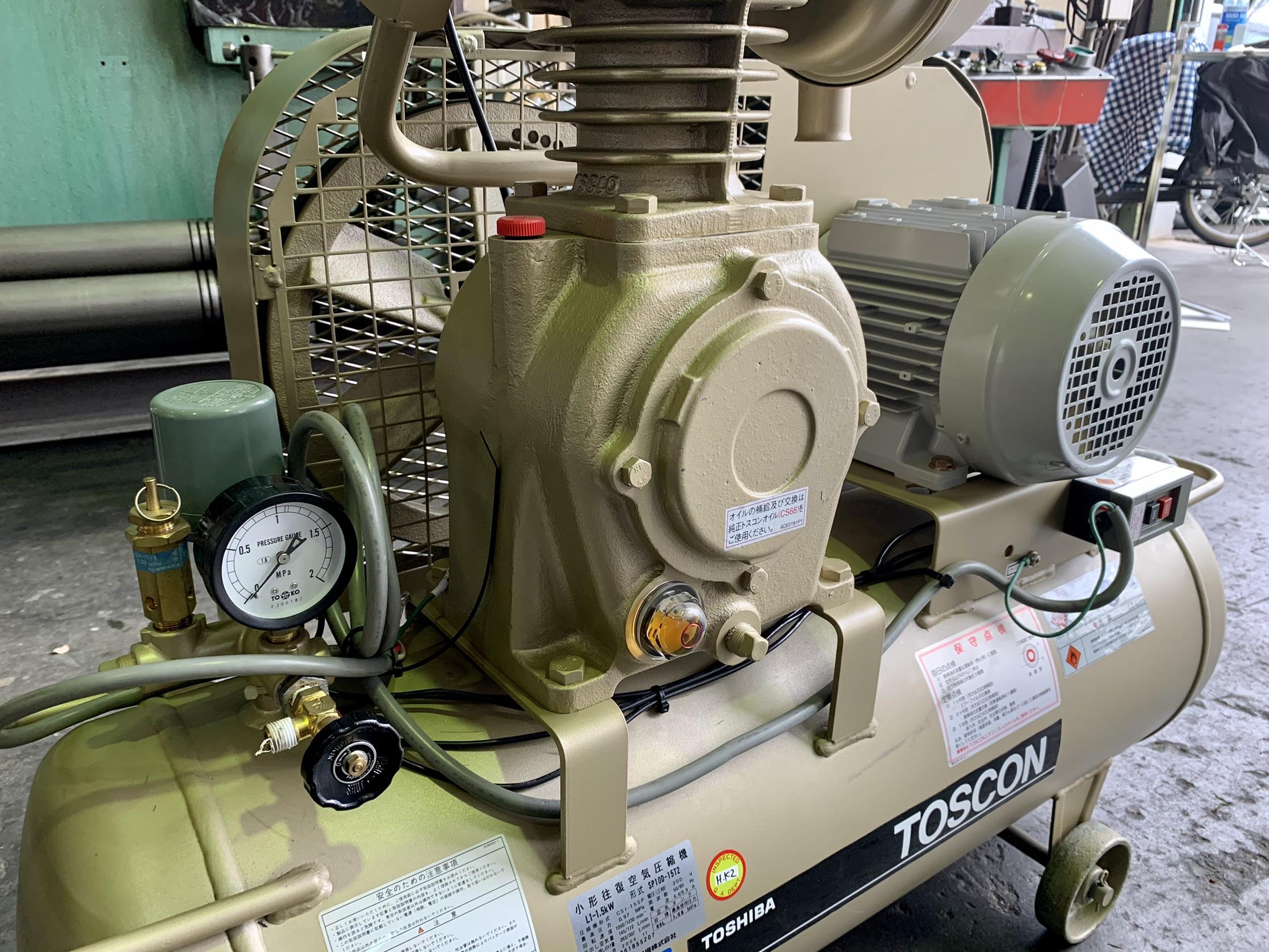 東芝_SP10D-15T2_1.5kWエアーコンプレッサー