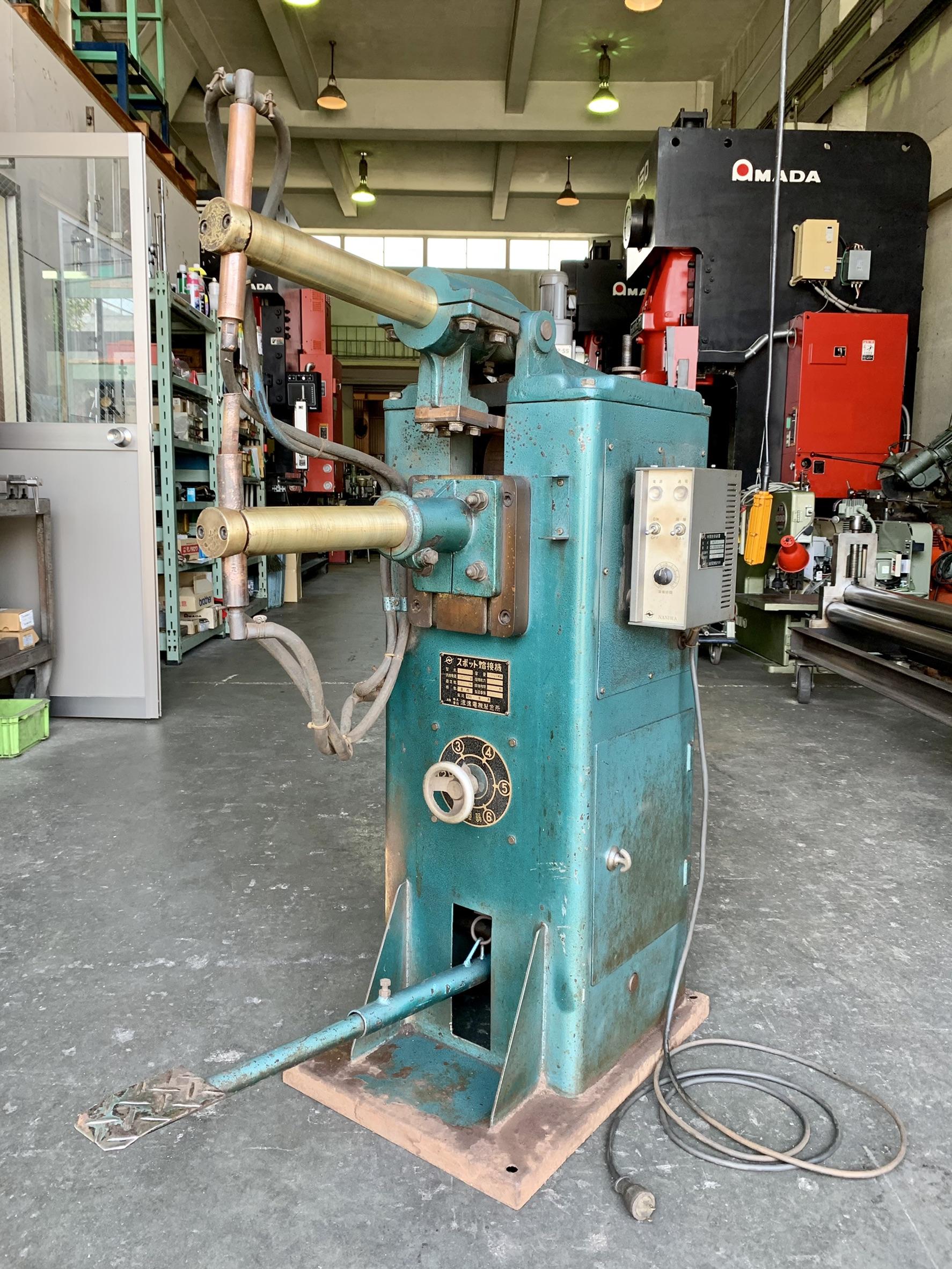 浪速電機製作所_SU-FR13_スポット溶接機