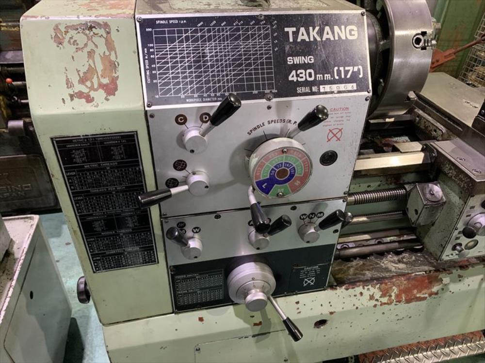 TAKANG_430×750_旋盤
