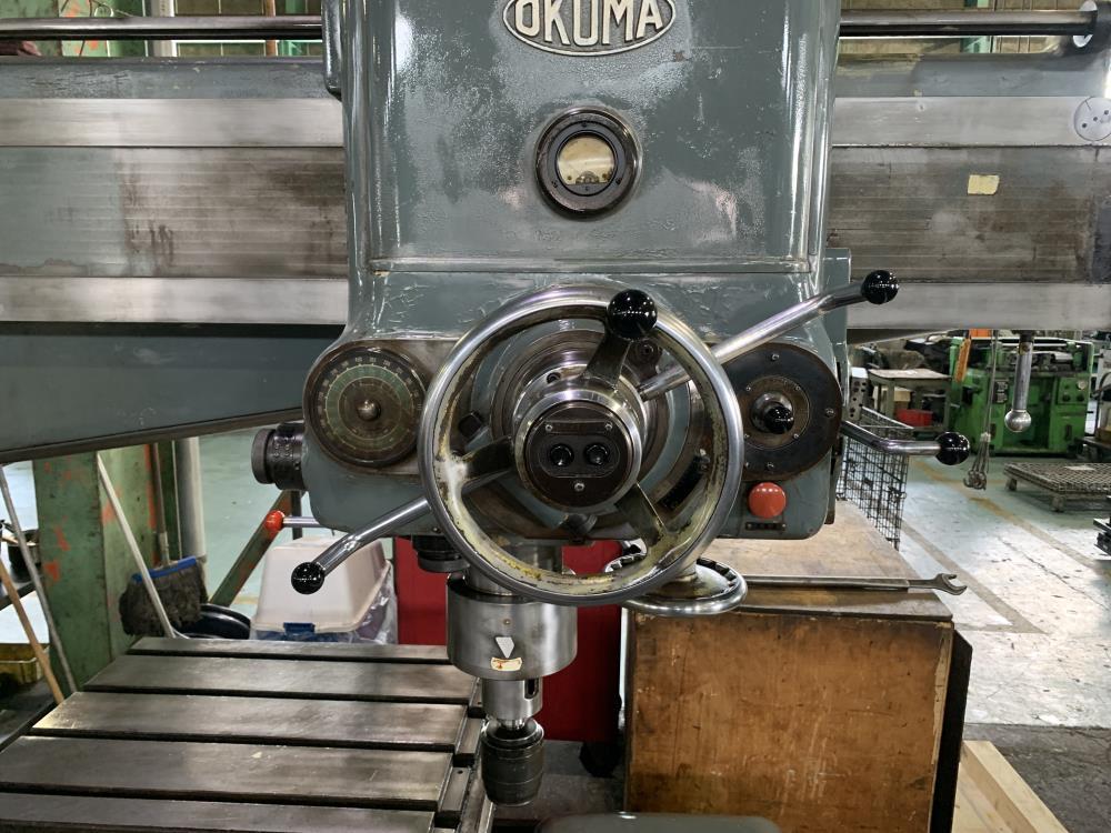 オークマ_DRA-J1600_ラジアルボール盤