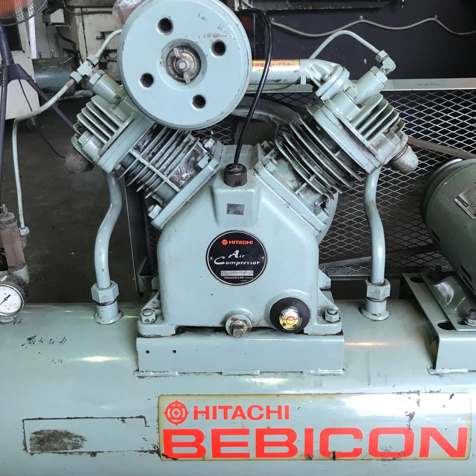 日立_BEBICON_2.2kWエアーコンプレッサー