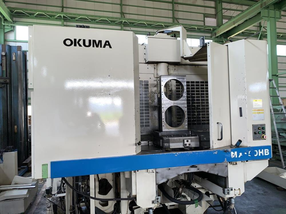 オークマ_MX-50HB_横マシニング