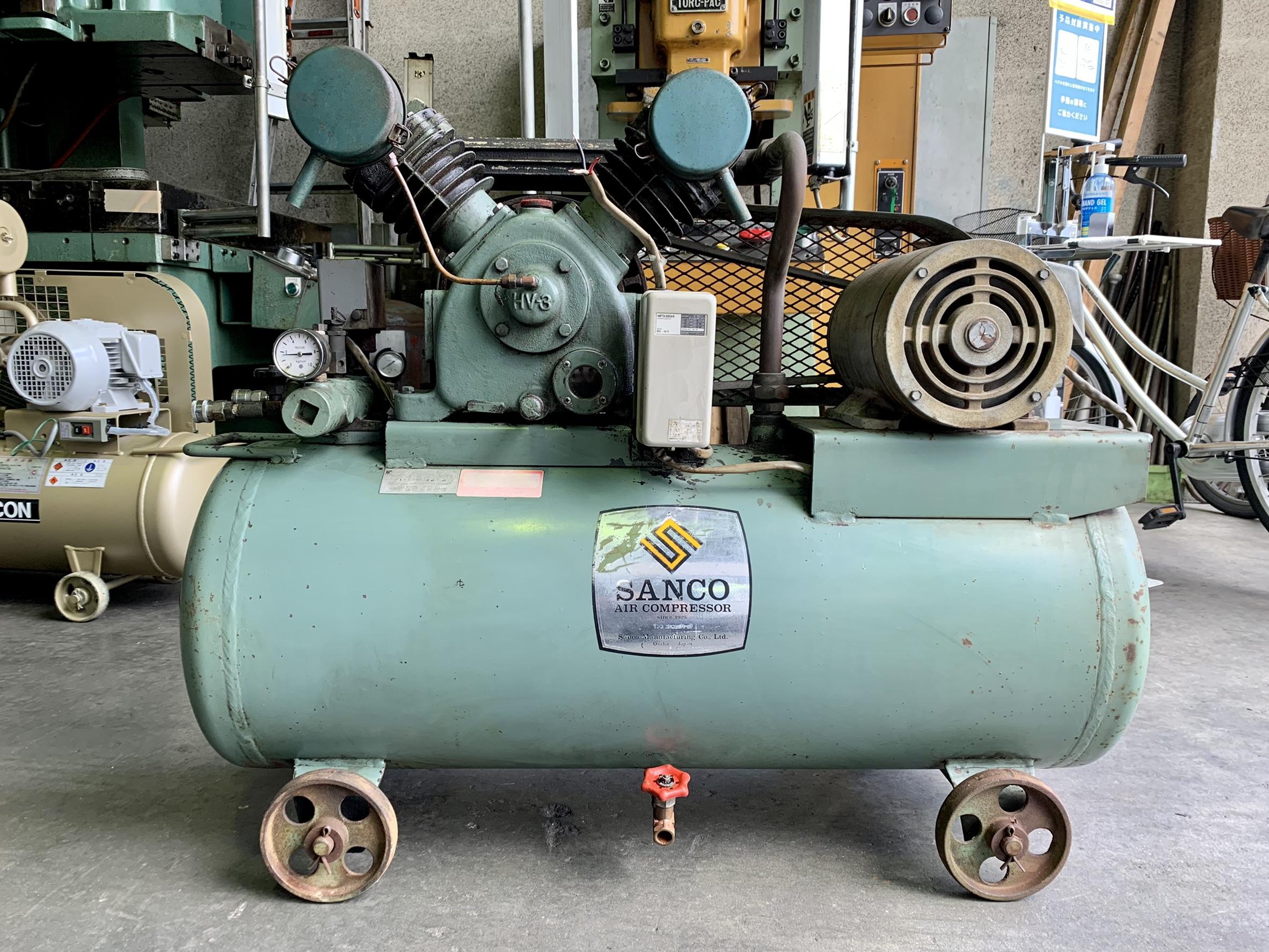 三黄機械製作所_AHV-3_2.2kWエアーコンプレッサー