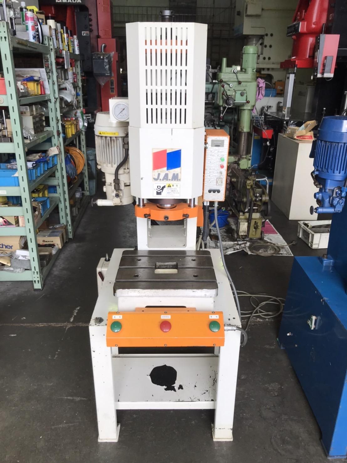 JAM|日本オートマチック_HYP505H_5T油圧プレス