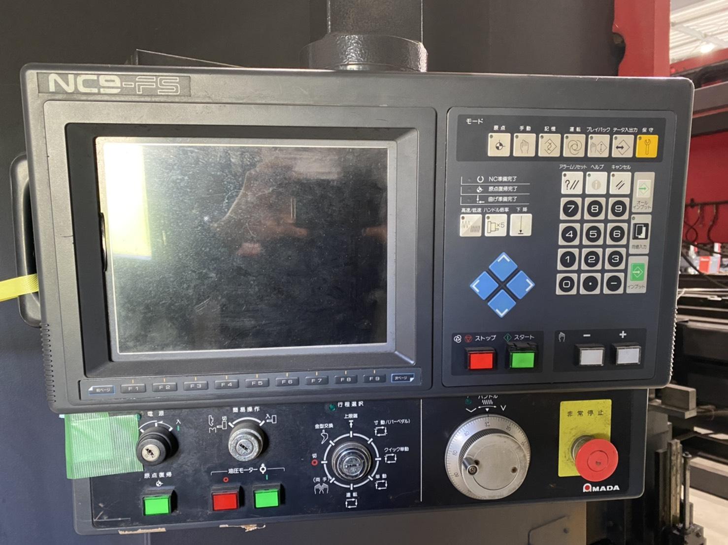 アマダ_FBDIII-1504FS_4000mm油圧ベンダー