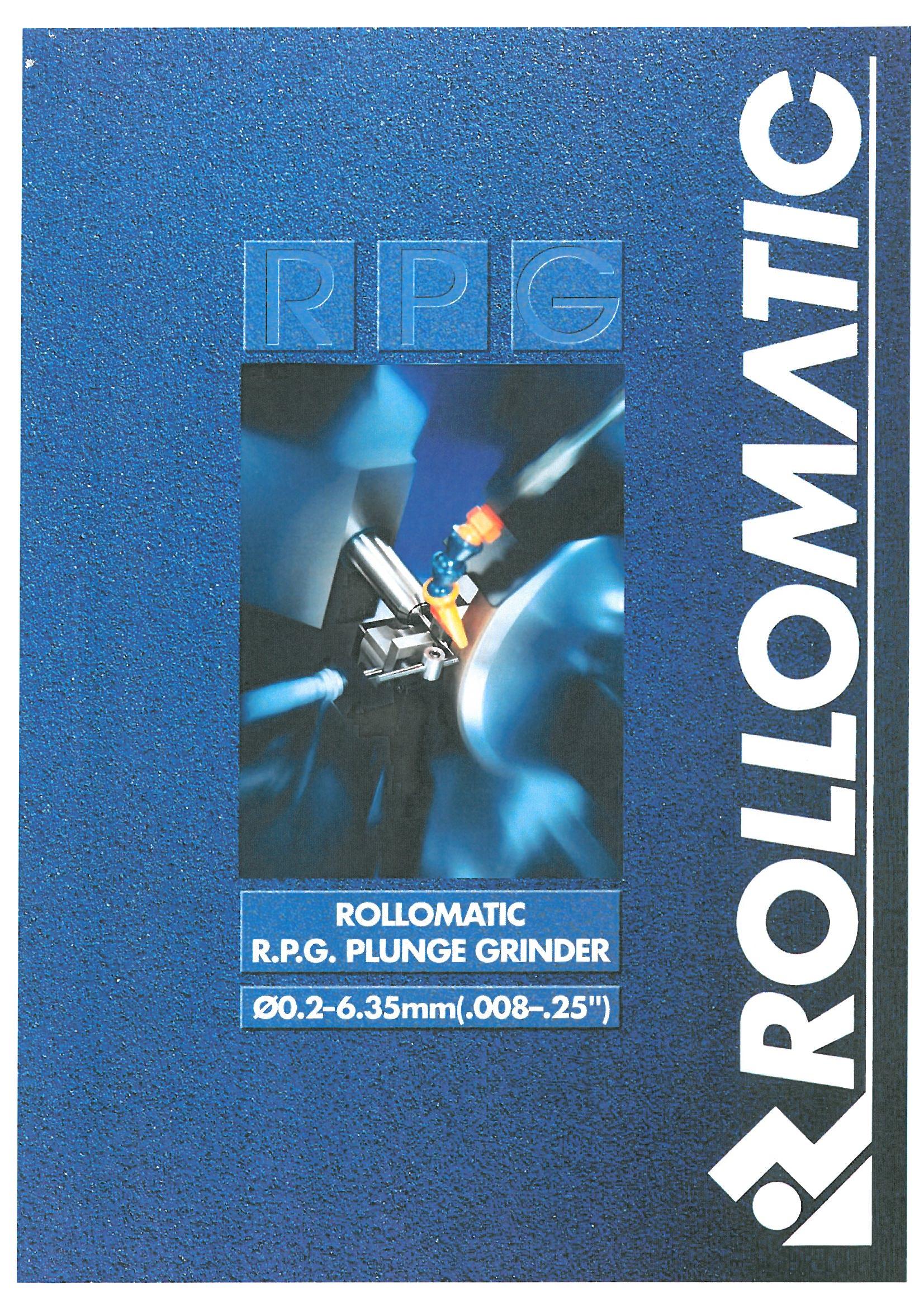 ロロマティック_RPG_プランジ研削盤