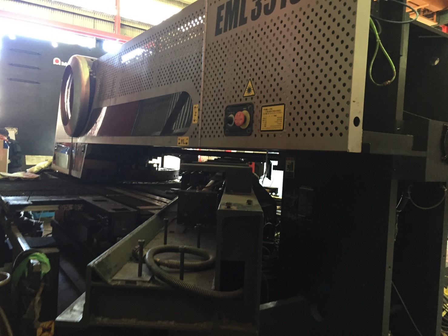 アマダ_EML-3510NT_パンチレーザー複合機